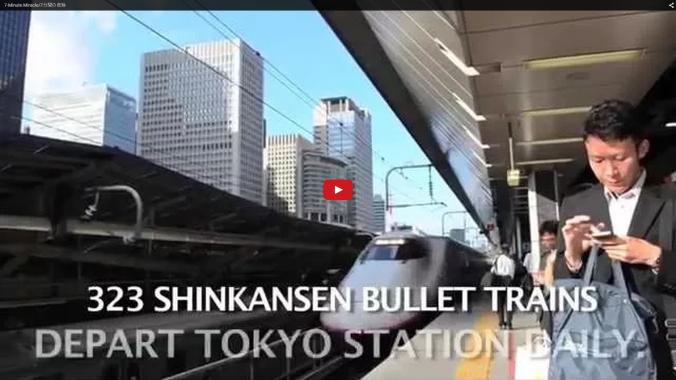 """VIDEO: ¿Qué es el """"Milagro de los 7 minutos"""" en tren bala"""